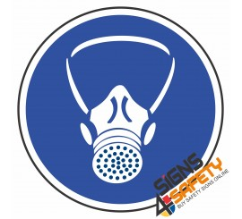 (MV2) Respiratory Protection Mandatory Sign