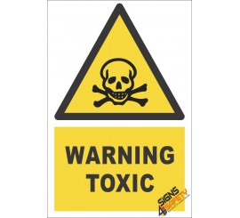 Toxic Substance Warning Sign