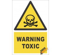 Toxic Substance Warning Sign
