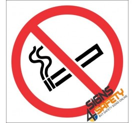 No Smoking Hazchem Sign