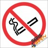No Smoking Hazchem Sign