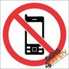 No Cell Phone Hazchem Sign