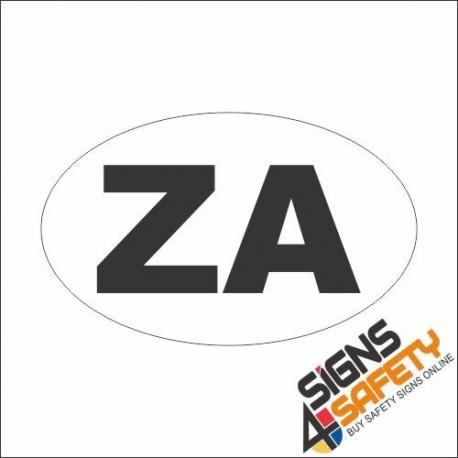 ZA Sticker