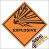 Explosive Hazchem Diamond Sign Class 1