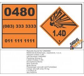 Business & Industrial Adhesives, Sealants & Tapes Health And Safety Hazard Sticker Explosive 1.3g Sticker Orange