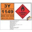 UN1149 Dibutyl Ethers, Flammable Liquid (3), Hazchem Placard