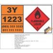 UN1223 Kerosene, Flammable Liquid (3), Hazchem Placard