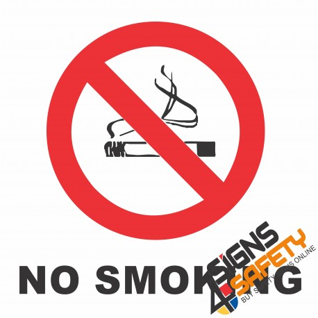 (NS2) No Smoking Sign