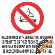 (NS4) No Smoking Legislation Sign