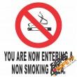 (NS6) Non Smoking Area Sign
