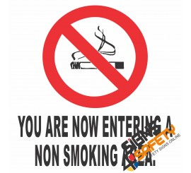 (NS6) Non Smoking Area Sign
