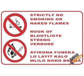 (NS16) No Smoking Area Sign