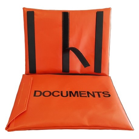 Document Bag - PVC with Velcro Attachments