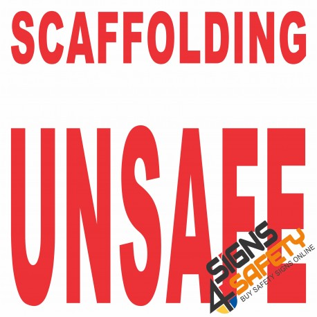 (C17) Scaffold Unsafe Sign