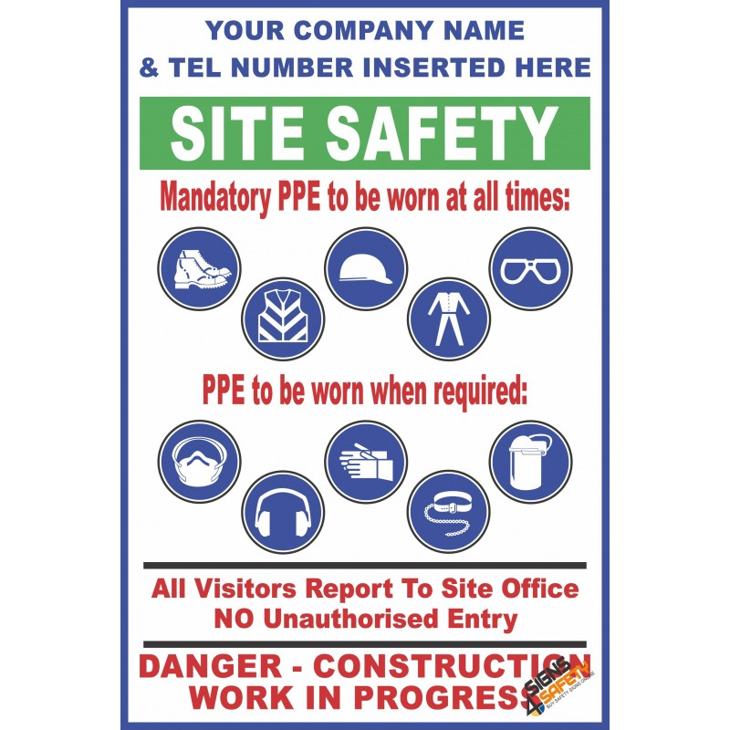Nosa Sabs C35 Site Safety Personal Protective