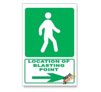 (GA8/D2) Traveling Way Sign, Arrow Right, Descriptive Safety Sign