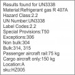 UN3338 Refrigerant gas R 407A, Compressed Gas (2), Hazchem Placard