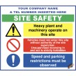 (C69) Site Safety / Personal Protective Equipment Mandatory Sign