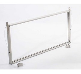 Aluminium Frames ONLY, for Photoluminescent Sign