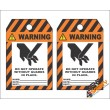 (MST31) Warning Do Not Operate Without Safety Tag (10 Tags / Pack)