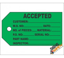 (IST6) Accepted Inventory Tag
