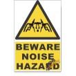 Noise, Beware Hazard Descriptive Safety Sign