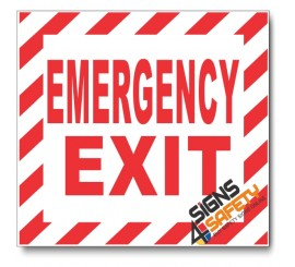 (PSC-F7) Emergency Exit Sign