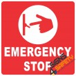 (E14) Electrical Emergency Stop Sign