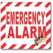 (PSC-F8) Emergency Alarm Sign