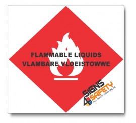 (PSC-F10) Flammable Liquids Sign