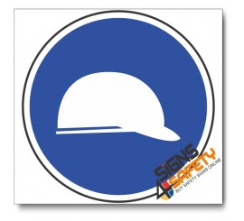 (MV3) Head Protection Mandatory Sign