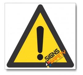 (WW1) General Hazard Sign
