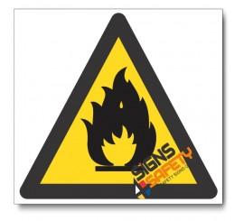 (WW2) Fire Hazard Sign