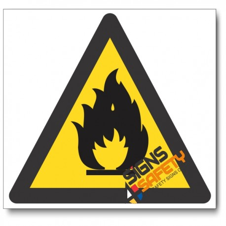 (WW2) Fire Hazard Sign