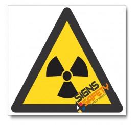 (WW6) Ionizing Hazard Sign