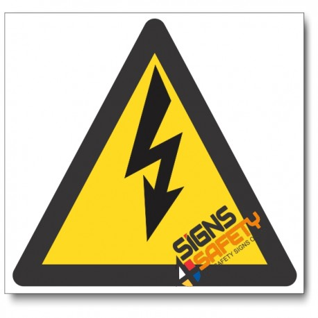 (WW7) Electric Shock Hazard Sign