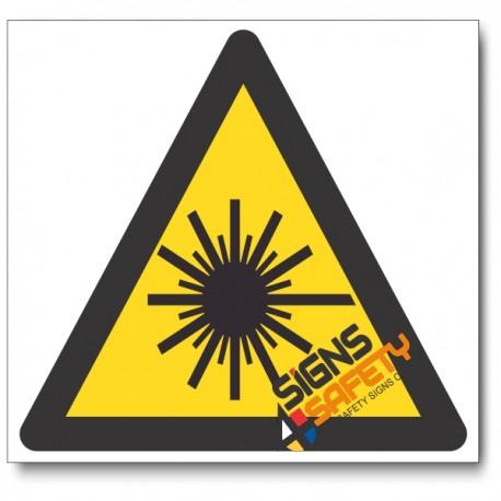 Laser Hazard Sign