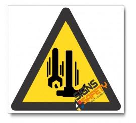 Workers Overhead Hazard Sign