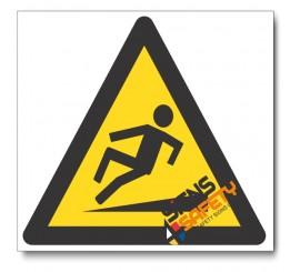 Slippery Walking Surface Hazard Sign
