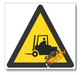 Forklift Hazard Sign