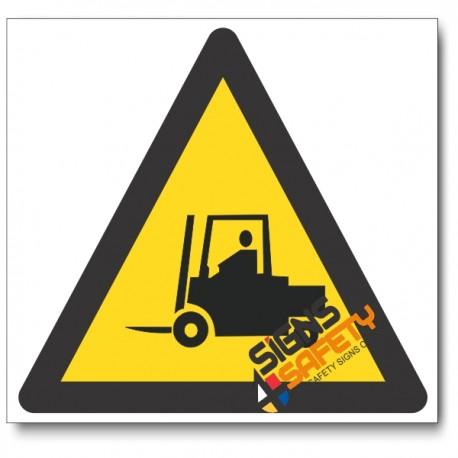 Forklift Hazard Sign