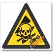 Exposed Live High-Voltage Hazard Sign