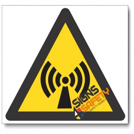 Non-Ionizing Radiation Hazard Sign