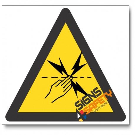 Electric Fencing Hazard Sign