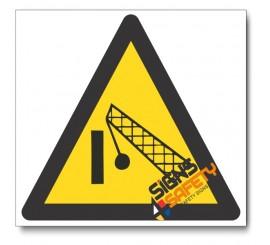 Demolition Area Hazard Sign