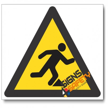 Tripping Hazard Sign