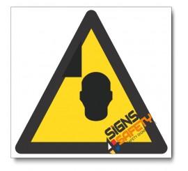 Mind Your Head Hazard Sign