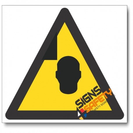 Mind Your Head Hazard Sign