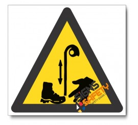 Beware Of Pulley Hazard Sign