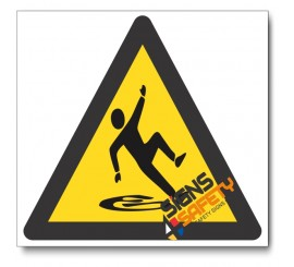 Wet Floor Hazard Sign